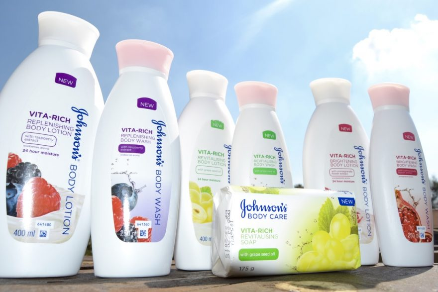 Johnson's Vitarich Body Care Products
