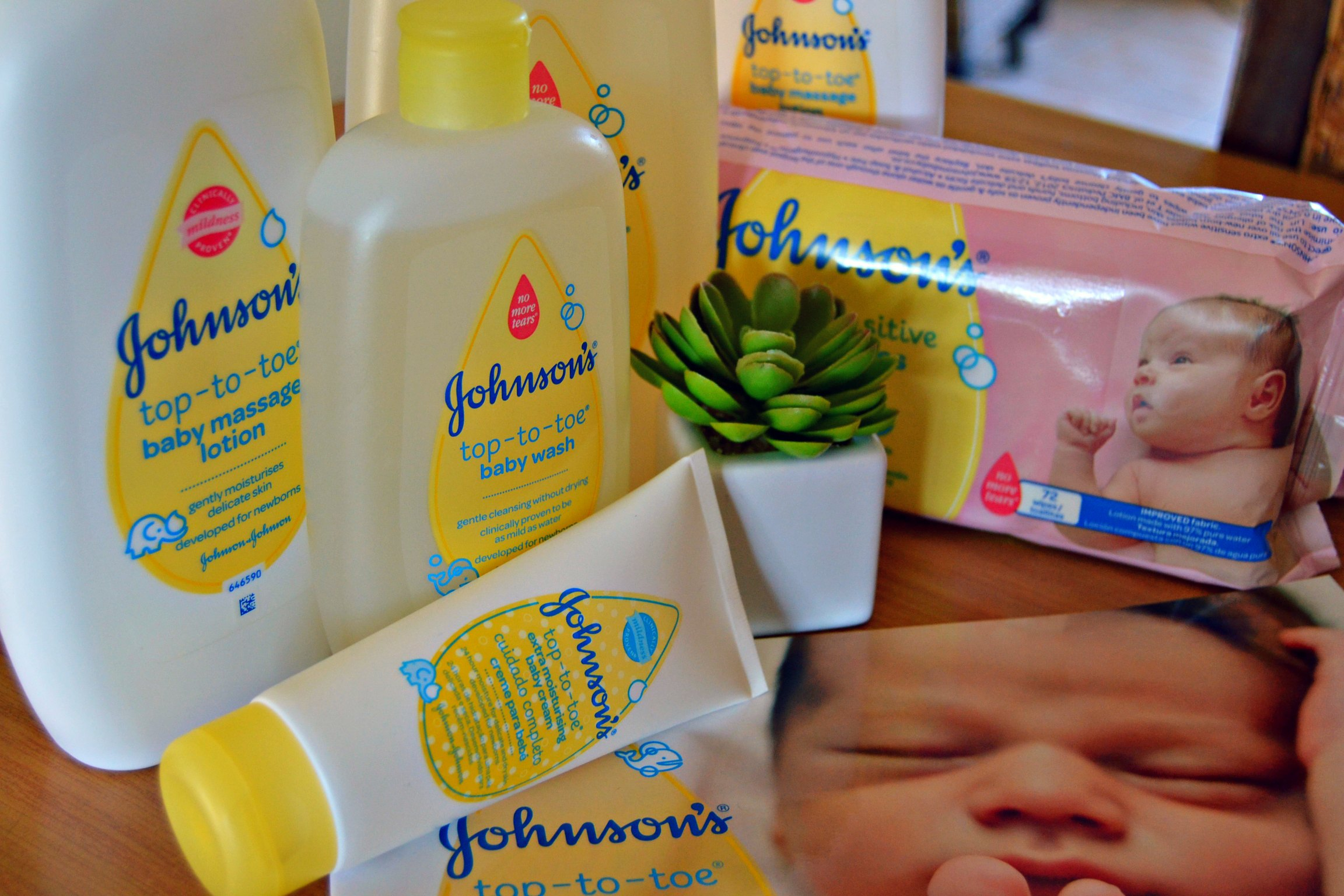 {Win} – Johnson's Top-to-Toe Products Range – Closed