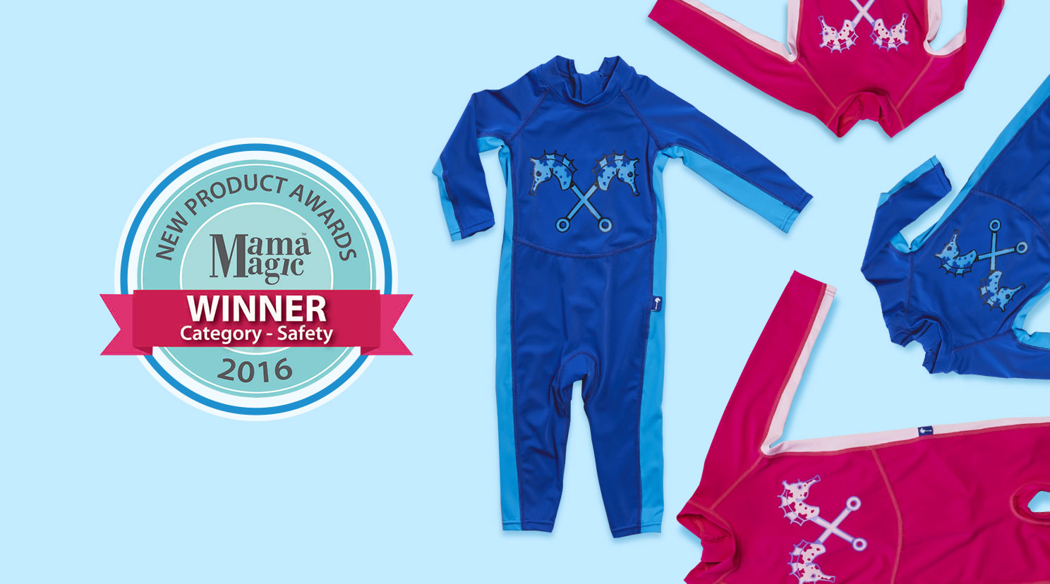 {Win} Parental Instinct quick drying swimwear with sun protection – (Closed)