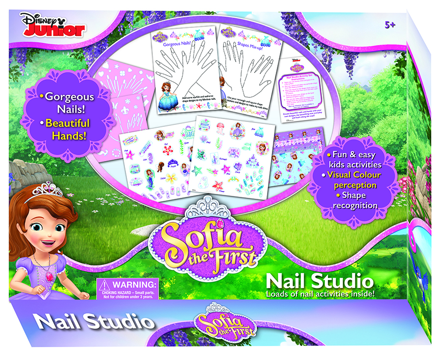 {Win} Sofia the First My nail studio #PrimaGamesFest (Closed)