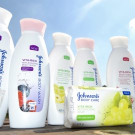 {Review} Johnson's Vitarich Body Care range Products