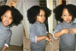 How I maintain my 3 year old's natural hair